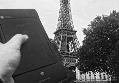 Love Note to Newton in Paris - Eiffel Tower