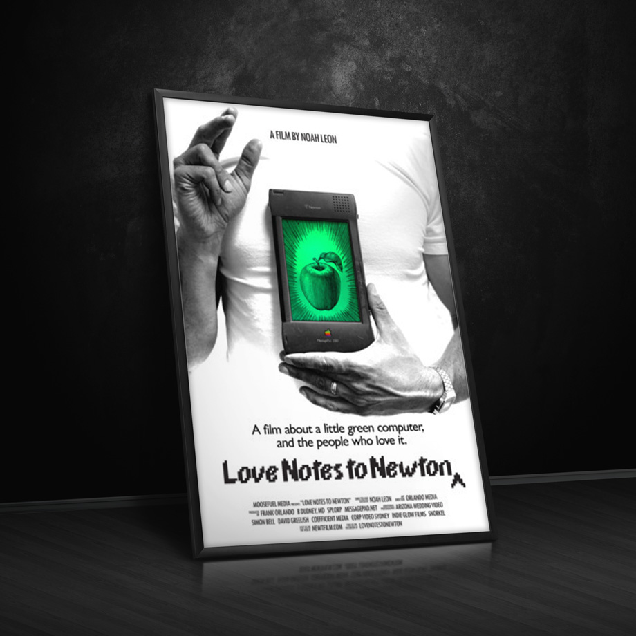 """Love Notes to Newton"" Second Poster"