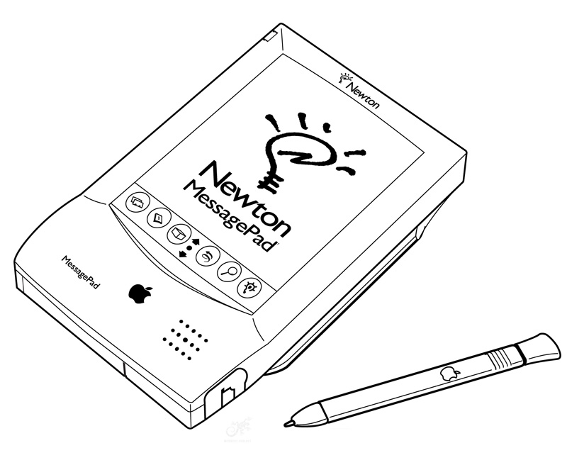 Apple Newton Original | Message-Pad.net