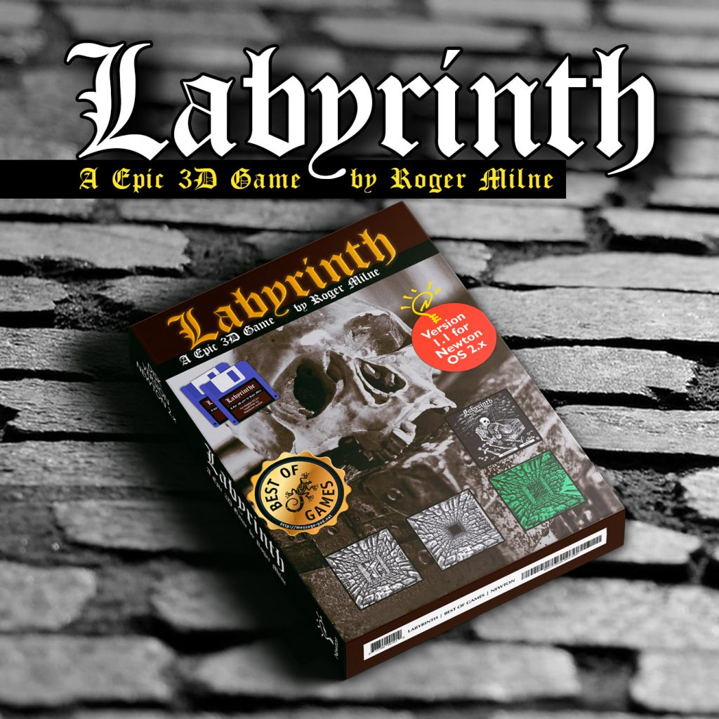 Labyrinth A Epic 3D Game for Apple Newton MessagePad