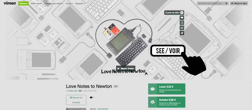Love Notes to Newton The documentary on Vimeo